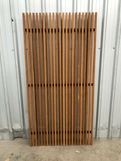 Screening & Gate Panels - Solid Bamboo Timber & Aluminium | eBay Timber Gates, Timber Deck, Wooden Gates, Garden Gates And Fencing, Fence, Clever Closet, Pure Tung Oil, Privacy Screen Outdoor