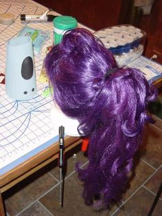 Leela Costume --wig stuff