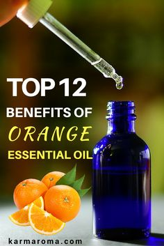 How To Use Orange Essential Oil – Here is a list of 12 things that orange essential oil can do!