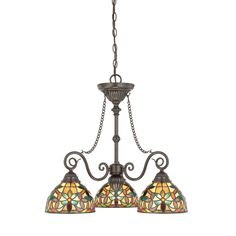 Quoizel Kami 3-Light Shaded Chandelier | Wayfair