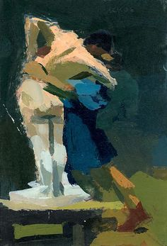 Pygmalion and Galatea (after Gerome) by Ken Kewley  - See our newest fine arts workshops available at Cullowhee Mountain Arts this summer! http://www.cullowheemountainarts.org