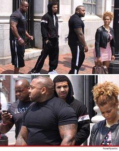 Drake -- My Bodyguards Are HUUUUUGGGGEEE