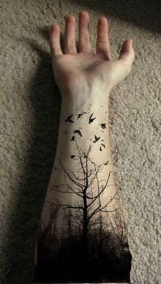 10 Classic, ethereal tree tattoos for your inspiration! | INKEDD