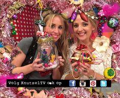 Een hele aflevering van KnutselTV vol met kerstcadeaus! Bekijk de DIY video van de knutselzussen.