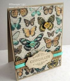 Sheer Perfection Designer Vellum Stack, colored on the back, greeting from Simply Wonderful