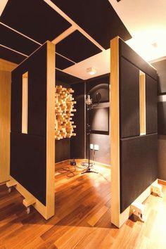 43 Ideas Music Studio Home Basements Acoustic Panels Recording Studio Furniture, Home Recording Studio Setup, Home Studio Setup, Studio Decor, Deco Studio, Music Studio Room, Studio Build, Studio Layout, Sound Studio
