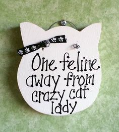 Cat sign for cats collector by kpdreams on Etsy,