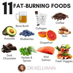 These 11 foods will turn your fat-burning into overdrive! A good combination of clean protein, healthy fats, and carbs from fruits and vegetables will ward off cravings and keeps you full between meals. Click through to get the full story behind these delicious #superfoods!