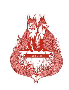 foxes wild and free/ idée pour un tattoo éventuel Gajeel Y Levy, Fuchs Tattoo, Fox Illustration, Illustrations, Fantastic Fox, Power Animal, Little Fox, Fox Art, Animal Totems