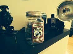 Saving for that road trip down Route A homemade gift for an adventurous friend Route 66 Trip, Road Trip, Saving Ideas, Baking Ingredients, Homemade Gifts, Cookie Dough, Wanderlust, Projects, Travel