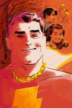 """Captain Marvel by Evan """"Doc,"""" Shaner"""