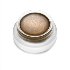 Black winged liner to define your eyes. Use RMS Eye Polish in Myth as a gel liner