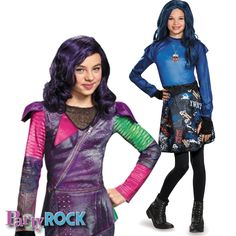 Dress up as your favorite villainous hero from Disneys Descendants this Halloween with costumes from Party Rock in Frisco!