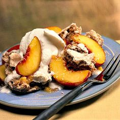 Vanilla yogurt replaces the cream to make this delectable dessert a low-calorie treat.