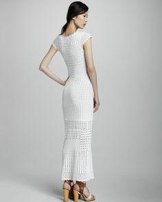 Vestido de ganchillo IE - Renee - Lei Yu Xuan