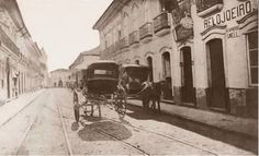 1862 - Rua Direita na região da Sé.