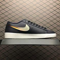 new style c6825 1f409 Wmns Nike Blazer Low Jelly Swoosh Black White AV9371-002-1
