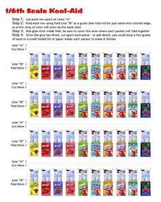 Kool-Aid Printables - Volume 2 by Renatta_R, via Flickr