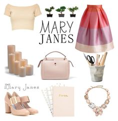 """""""Cute Posh Mary Janes!"""" by bebe-gawddess ❤ liked on Polyvore featuring Fendi, Chicwish, Alice + Olivia, Oscar de la Renta, Frontgate, Nearly Natural and ESSEY"""