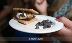 Marina Del Rey Bat Mitzvah | Karen Ard Photography | Smores Bar | Marina City Club