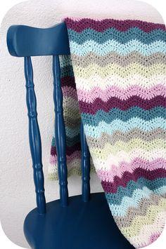 Crochet baby blanket - color inspiration