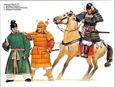 Nara Period soldiers