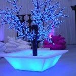 winter wonderland wedding with LED lights Design Shop, Plastic Planter Boxes, Pot Lights, Shops, Winter Wonderland Wedding, Slide Design, Modern Wallpaper, Outdoor Planters, Luz Led