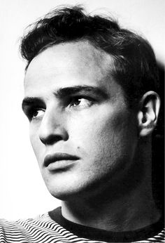 Marlon Brando by Philippe Halsman, 1950.