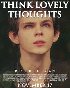 Think lovely thoughts