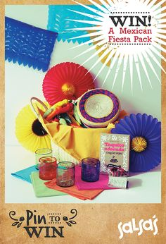 Pin to Win a Mexican Fiesta Pack!  #mexico #lifestyle #photography #colour