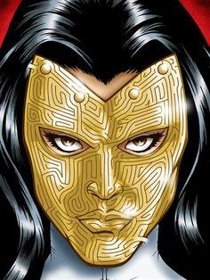 Marvel Iron Man Madam Masque Maze