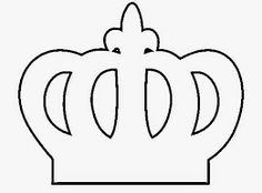 Resultado de imagem para lembrançinha de feltro coroa