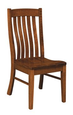 Wooden Dining Room Chairs - Amish Oak in Texas