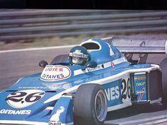 Jacques Laffite (Ligier-Gitanes) 3ème du Grand Prix de Belgique - Zolder 1976 - sport-auto juin 1976. Plus