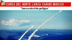 Corea del Norte lanza varios misiles hacia el mar del Japón