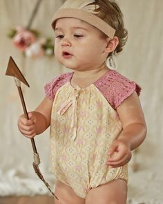 Little Gypsy Onesie - Mellow Yellow