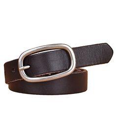 FANG-STUDIO Leather Belt Cowhide Soft Jeans Retro Simple Pure Leather Belt  Fashion Wild Belt afaafc1e444