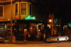 Absinthe, San Francisco, CA  -Been here! Crazy place....friend and I were pretty travel tired.