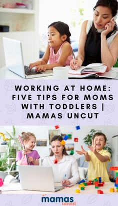 Working at home when you're a mom and have a toddler is no easy task. Here are 5 tips that will help you manage work and childcare.