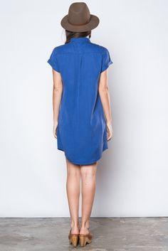 Loren Pacific Blue Dress