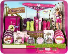 "in stores now! the largest festival in the world is opening its doors soon and essence is offering just the right cosmetics products for a perfect ""wiesn"" look with the trend edition ""oktoberfest"". your traditional German look is sure to be an eye-catcher with the it-pieces in beautiful pink, lilac, beige, green and brown.  #essence #cosmetics #oktoberfest #wiesn"