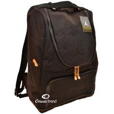 Nike Air Jordan 15 inch Black Premium Laptop and Ipad / Tablet Backpack at OrlandoTrend.com #OrlandoTrend