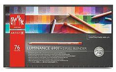 CREATIVE ART MATERIALS Luminance 6901 Clr Pncl Set 76 Art...