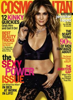 Cosmopolitan USA - October 2013 with Jennifer Lopez