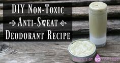 This DIY all-natural non-toxic and anti-sweat deodorant recipe is the best I've made so far! Perfect for use at the gym to keep your underarms fresh all day