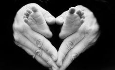 My sister in law took this picture of my darling daughters feet and husbands hands for a stock photography website that she does photography for!  I see it everywhere - she has famous feet! Just had to pin it.
