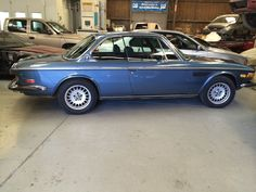 Old school bmw at autobodyandmore in Santa Rosa Ca getting a face lift