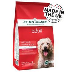 Arden Grange Super Premium Dog Food Adult: with fresh chicken & rice - After trying a number of different brands, we have settled on feeding our dogs this. All four of the dogs are thriving on it. Quality food at a reasonable price! Chicken For Dogs, Fresh Chicken, Chicken Rice, Dog Food Ratings, Dog Food Reviews, Hypoallergenic Dog Food, Dog Food Comparison, Dog Food Recall, Dog Food Container