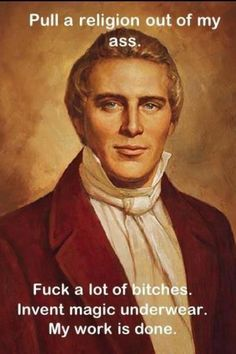 Do Mormons worship the prophet Joseph Smith? Is it logical to try and learn about Joseph Smith from the people that hate him most? Joseph Smith, John Smith, Ex Mormon, Book Of Mormon, Mormon Leader, Mormon Girls, Mormon Faith, Mormon Quotes, Mormon History