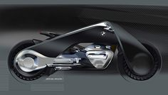 BMW Motorrad's Vision Next 100 concept bike
